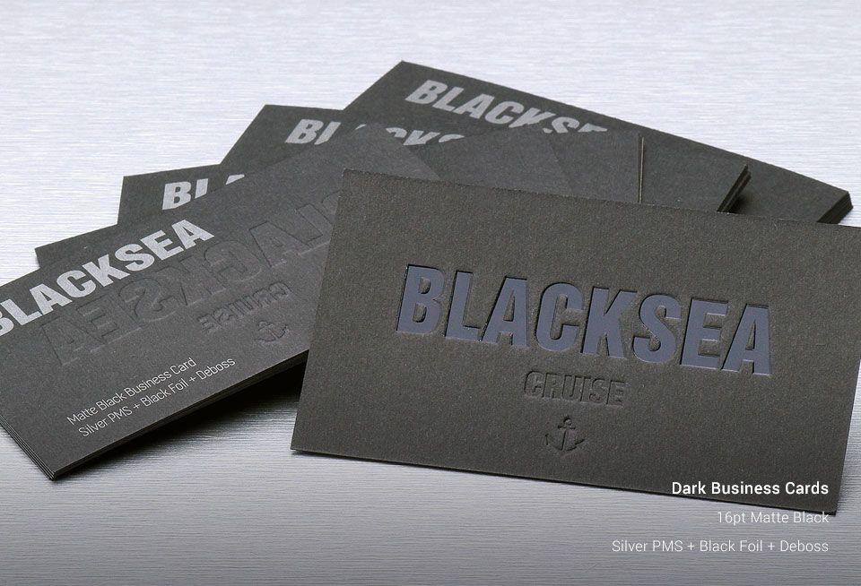 dark business cards stickercanada