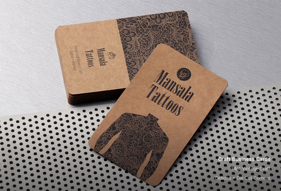 Craft Business Cards | Vintage Business Cards | Business Card ...