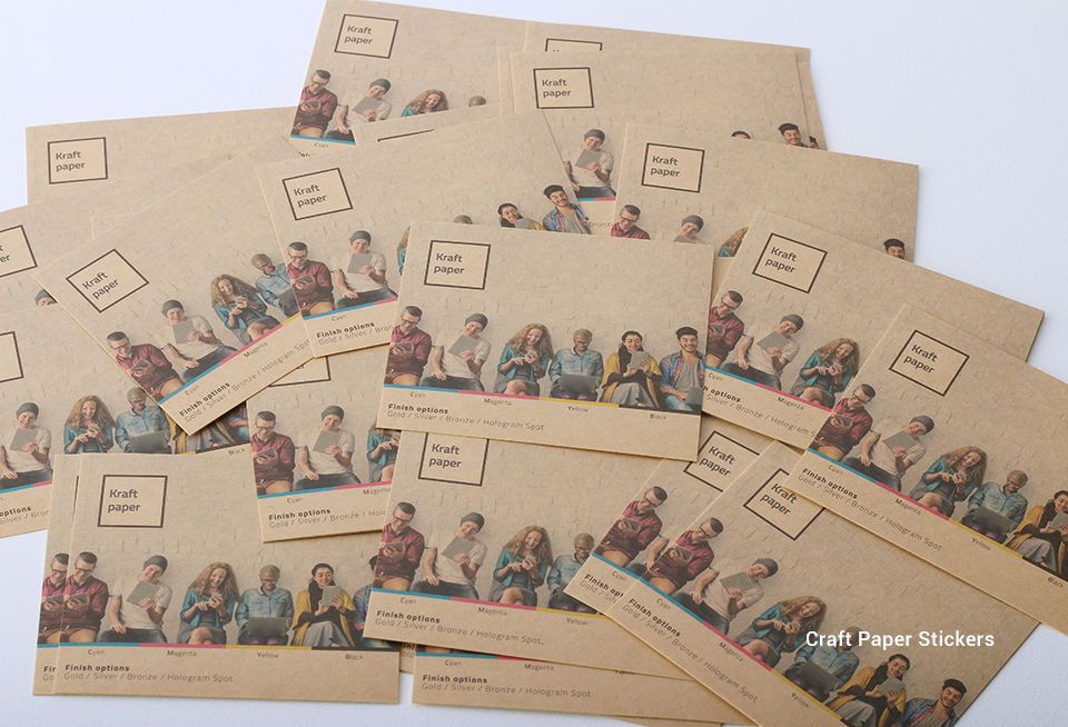 Craft Paper Stickers