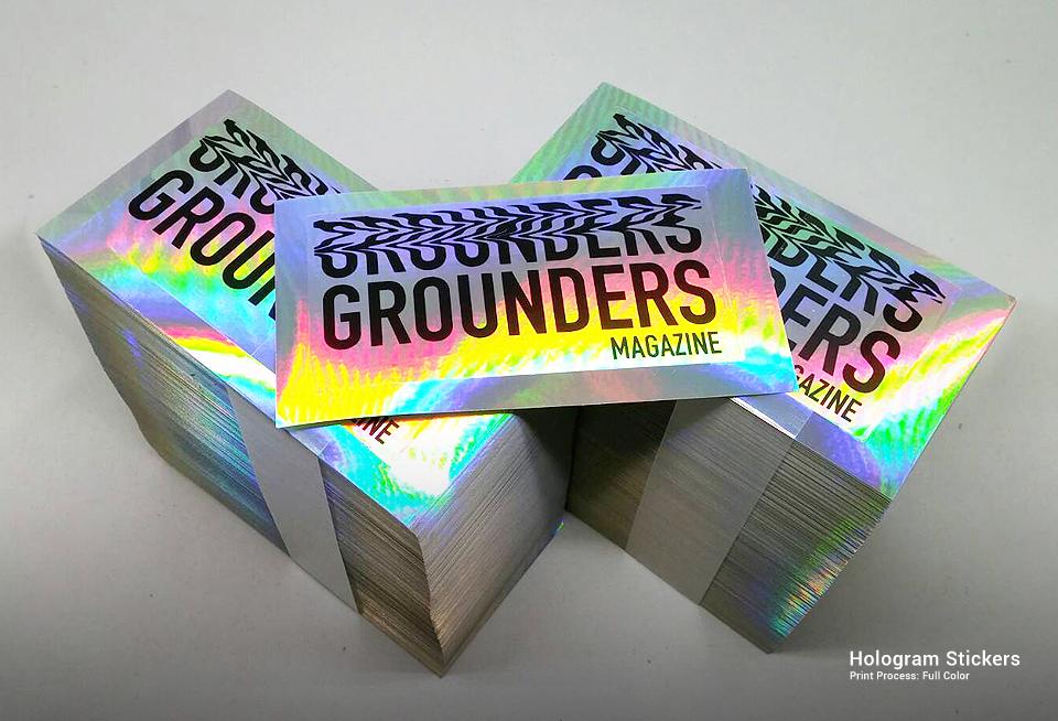 Hologram stickers