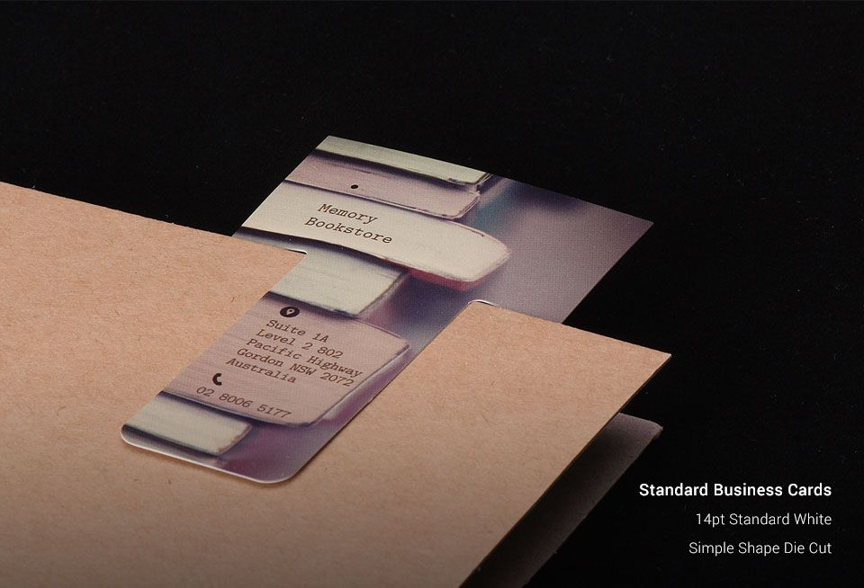 Standard Business Cards | Canada Standard Business Cards | StickerCanada