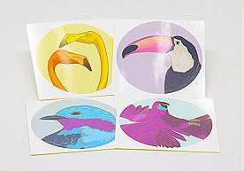 Quebec Custom Art Paper Stickers Printing
