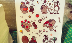 Custom Sticker Sheet