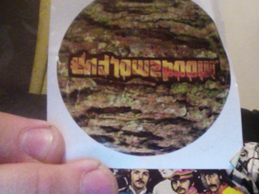 woodsworthy stickers