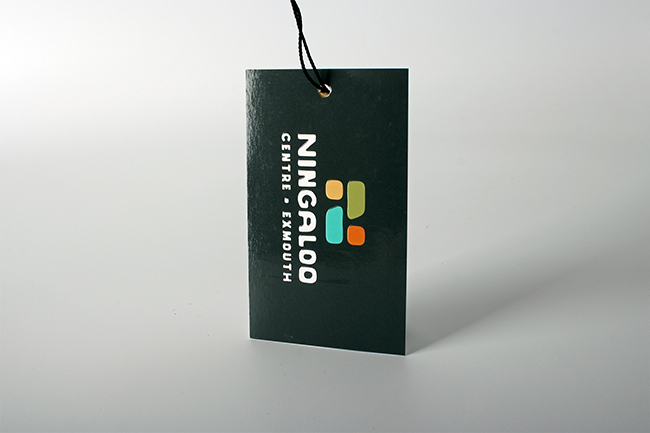 Ningaloo Centre ExMouth Swing Tag