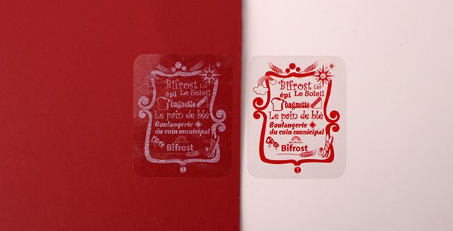 Bifrost Custom Transparent Stickers