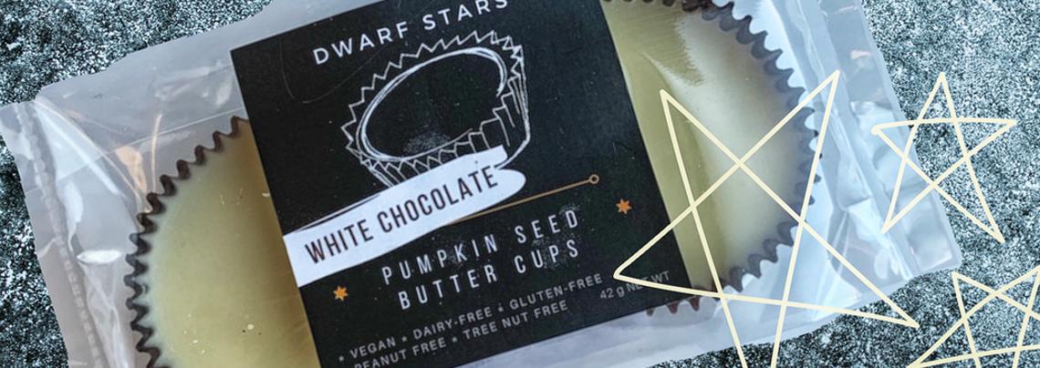 Dwarf Stars White Chocolate Custom Labels
