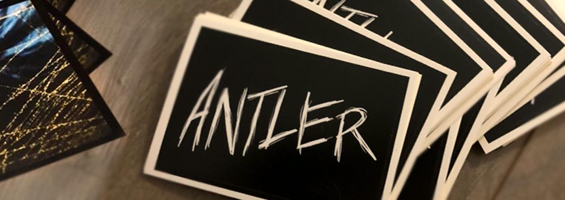 antler custom stickers