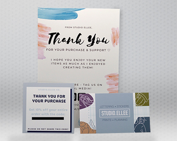 Studio.Ellee's Thank You Cards - A Grand Gesture to Show Gratitude