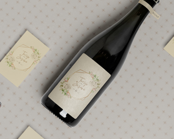 Wedding Favours - How to Personalize Wine Bottles Using Labels